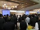 新年賀詞交換会が開催されました。